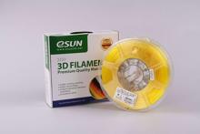 ESUN 3D PRINTER PLA FILAMENT -YELLOW- 1.75mm 1KG