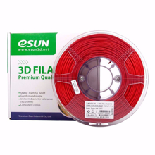 ESUN 3D PRINTER PLA FILAMENT -RED- 1.75mm 1KG