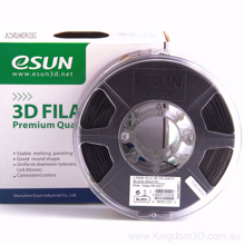 ESUN 3D PRINTER PLA FILAMENT -Black- 1.75mm 1KG