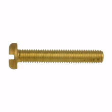 M2.5x8mm Slotted Pan Head Screw Color Brass ( pack 50 )