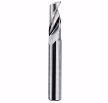 Picture of End mill 1 flute 2mmx6mm for aluminum Shank :3.175