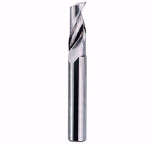 Picture of End mill 1 flute 4mmx10mm for aluminum Shank : 4