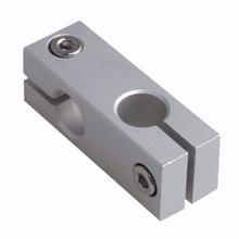 Aluminum Alloy 10mm Hole Diameter Double Tube Linear Shaft Support Connectors