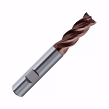 Carbide End Mill Bit 4 Flutes D:10 H:25 Shank:10