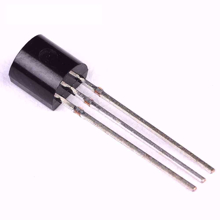 Picture of BC556 NPN Transistor - black