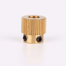 MK8 Extruder Gear 40 Tooth ( Brass) 5mm