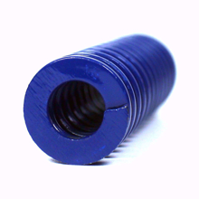 Picture of 5mm Light Duty Blue Spiral Stamping Compression Die Spring