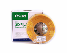صورة ESUN 3D PRINTER ABS FILAMENT -GOLD- 1.75mm 1KG