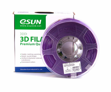 ESUN3D PRINTER PLA FILAMENT -Purple- 1.75mm 1KG