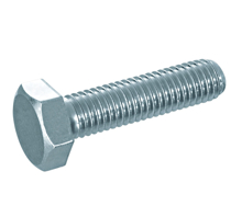 M5x20mm Hexagonal Steel Machine Screw - Pack 20