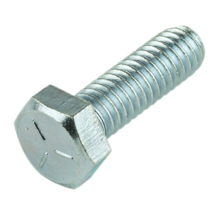 M5x30mm Hexagonal Steel Machine Screw - Pack 20
