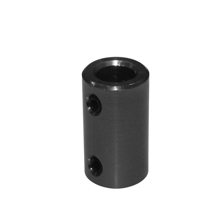 Picture of Rigid coupler 5mm to 8mm stepper motor Shaft coupling for 3d printer ( Black )
