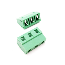 3 Pin PCB Mount Screw Terminals Block Pitch 5mm_Long