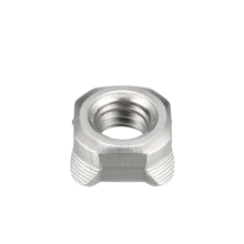 Weld Square  Nut 8mm ( pack 20)