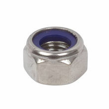 Nyloc Nut 4mm Stainless Steel