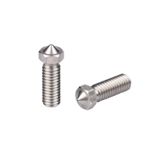 0.6mm Volcano Nozzle ( Stainless Steel ) Stand & Side