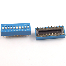 10 Position DIP Switch 2.54mm
