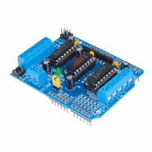Arduino Motor Shield 4 Channel L293D H-Bridge Dc Motor Control Support PWM
