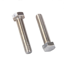 M4x25mm Hexagonal Steel Machine Screw - Pack 20