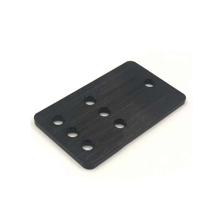 Idler Pulley Plate (Steel) Front