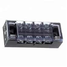 TB-2504 Fixed Barrier Terminal Block (25A-600V) 4pin