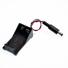 9V Battery Holder With Plug Front