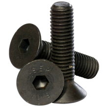M5x10mm High Tensile Socket Countersunk Screws - Pack 50