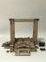 3D Printer Graber i3 Wooden Frame Kit Front