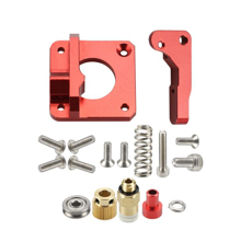 MK8-RED EXTRUDER-LEFT (Long Arm )