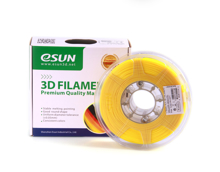 ESUN 3D PRINTER PLA FILAMENT -GLASS LEMON YELLOW- 1.75mm 1KG