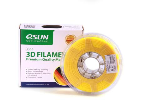 ESUN 3D PRINTER PLA FILAMENT -GLASS LEMON YELLOW- 1.75mm 1KG