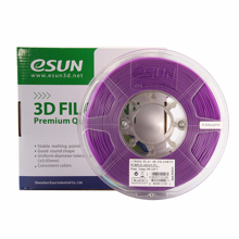 ESUN 3D PRINTER PLA FILAMENT -GLASS PURPLE- 1.75mm 1KG