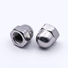 M8 Acorn / Cap Nuts - Pack 20