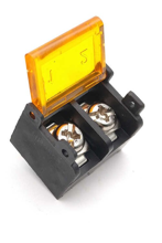 Barrier Terminal Block 2 Pin With Cover Pitch 9.5mm