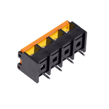 Barrier Terminal Block 4 Pin With Cover Pitch 9.5mm