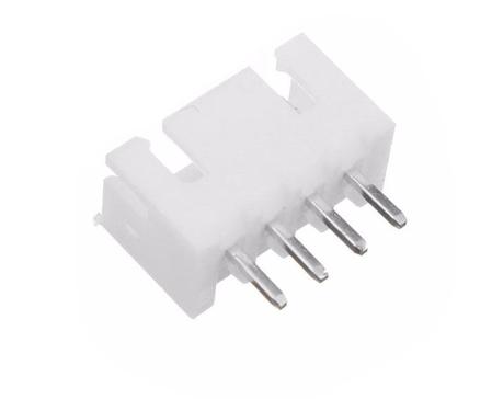 PWM- 4 pin Polarized Male on PCB