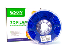 ESUN 3D PRINTER PLA FILAMENT -Glass Blue- 1.75mm 1KG