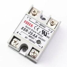 SSR-25DA (Solid State Relay 25A) Input 80-250Vdc / Output 24-380Vac