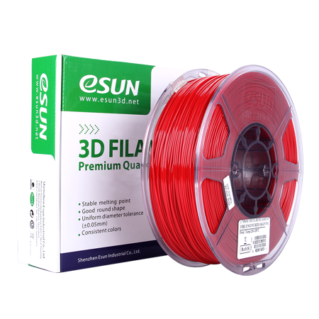 3D PRINTER PETG FILAMENT ESUN -Red- 1.75mm 1KG