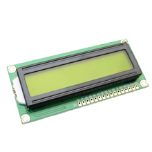 LCD 16x 2 Character Yellow Green Display for Arduino AVR PIC
