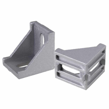 3D Printer and Cnc L 40mm W 40mm Aluminum Profile Corner Connector Bracket