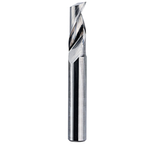 End mill 1 flute 4mmx17mm for acrylic Shank : 4