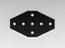 Cross Joining Plate (steel)