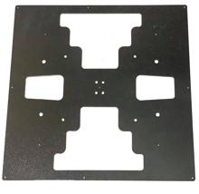 Build Plate For 3D Printer 300x300mm - 3mm - Black