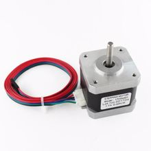 Picture of Nema17 Stepper Motor 42 motor Nema 17 motor 42BYGH 40MM 1.7A (17HS4401) motor for CNC XYZ