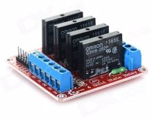 Picture of solid state relay 4 out put
