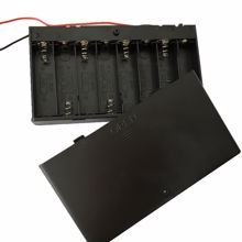 Picture of 8 x AA Battery Holder & On/Off Switch