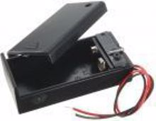 Picture of 9V Battery Holder with On/Off Switch