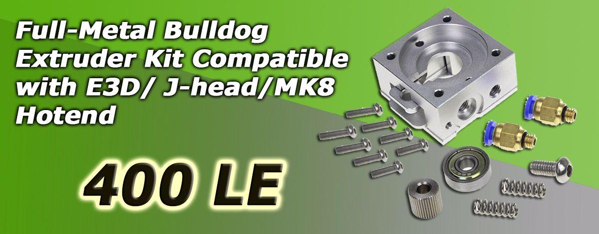 bulldog Extruder Parts Remote Proximity Full Metal E3D Jhead