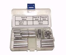 Picture of ِAluminum Spacers Box Package Different Size